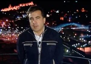 Саакашвили записал обращение на украинском языке