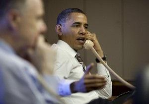 Кремль: Обама поздравил Путина со вступлением в должность главы государства