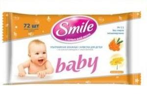 Влажные салфетки ТМ Smile Baby стали спонсором передачи  Школа доктора Комаровского