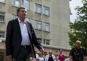 Лечащий врач Тимошенко улетел в Германию