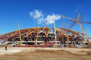 В России не успевают до конца года ввести в эксплуатацию два стадиона к ЧМ-2018