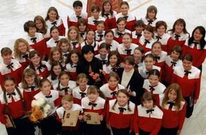 Детский хор  Щедрик  примет участие в премьерном исполнении оратории Б. Бреттена  Sant Nikolas