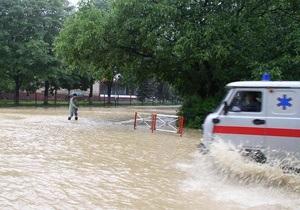 Сегодня на западе Украины и в Крыму ожидаются сильные дожди