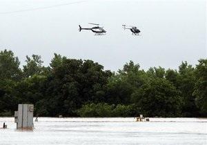 Жертвами наводнения во Франции стали десять человек