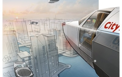 В Ізраїлі створять літаючий автомобіль на рідкому водні