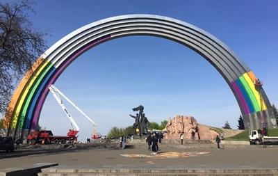 Київ зустріне Євробачення з аркою у кольорах веселки