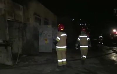 В Киеве горела трансфоматорная подстанция