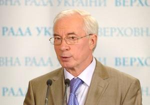 Азаров рассчитывает на 0,3-процентную инфляцию в январе