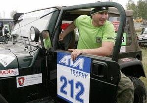 Янукович-младший передал свой выигрыш в ралли Шацкому парку