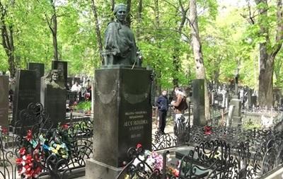 Задержан похититель бронзовых деталей с могилы Леси Украинки