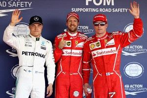 Гран-прі Росії: Феттель виграв кваліфікацію