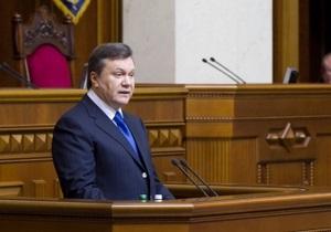 Янукович потребовал прекратить давление налоговых органов на бизнес
