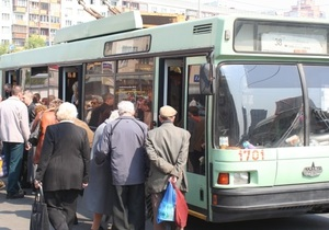 Херсонские троллейбусы не вышли на маршруты