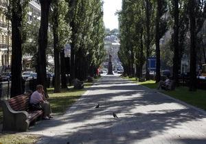 киевских парках установят композиции из растений