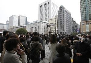 Недалеко от Токио произошло землетрясение