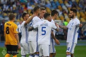 Динамо-Александрия 6-0: видео голов и обзор матча
