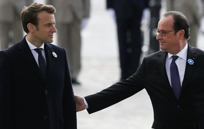 Макрон лидирует напрезидентских выборах воФранции