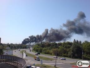 В Запорожье загорелся АвтоЗАЗ (обновлено)