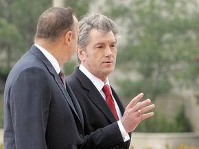 Ющенко и Алиев поговорили тет-а-тет и открыли заседание Совета Президентов