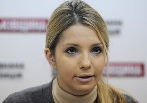Тимошенко отказалась прекратить голодовку, несмотря на уговоры дочери