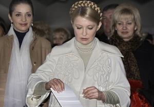 Янукович уверенно победил в родном городе Тимошенко