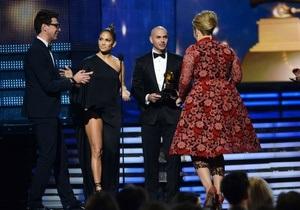 Украинский журналист вышел на сцену Грэмми забрать награду вместо Адель
