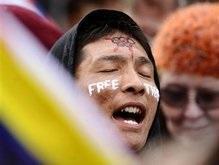В Сан-Франциско факелоносец побоялся нести Олимпийский огонь