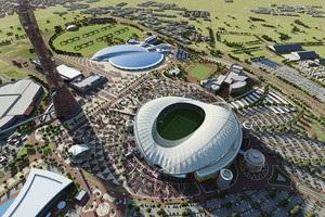 В Катаре открыли первый стадион ЧМ-2022