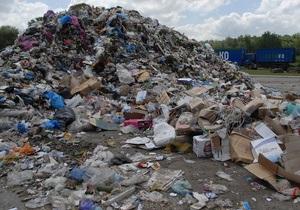 новости Донецка - мусор - свалка мусора - В пригороде Донецка жители жалуются на кучи мусора