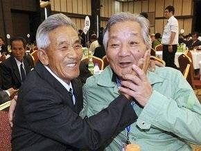 Разлученные войной родственники из КНДР и Южной Кореи смогли встретиться