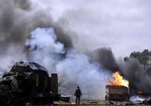 Власти Ливии заявили о гибели 100 мирных жителей в результат ударов коалиции
