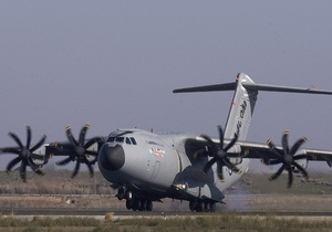В Испании успешно завершился первый испытательный полет Airbus A400M