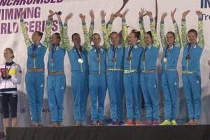 Українські синхроністки виграли три золота та два срібла в Іспанії