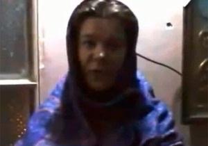 В интернете появилось видеообращение похищенной в Сирии украинской журналистки