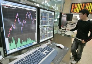 Украинские биржи открылись резким снижением