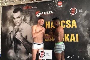 Беринчик взял вес, соперник Малиновского не вложился в рамки категории