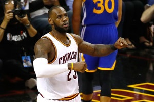 ЛеБрон Джеймс установил рекорд по количеству трипл-даблов в финалах НБА