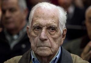 Бывший аргентинский диктатор приговорен к пожизненному заключению