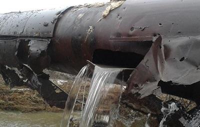 «Вода Донбасса» пообещала сегодня запустить работу Южнодонбасского водовода