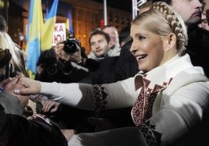 Интервью с Юлией Тимошенко