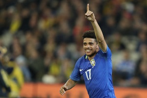 Тайсон о дебютном голе за сборную Бразилии: Мечта мальчика осуществилась