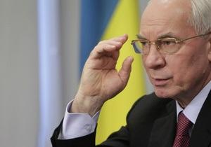Азаров ждет решения газового вопроса с Россией в ближайшее время