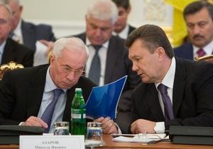 Янукович поручил Азарову увеличить расходы на условия содержания в СИЗО