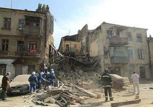 Новости Одессы - В Одессе рухнул дом. Спасатели ищут двух жильцов