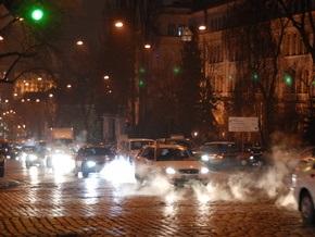В Киеве 11 улиц остались без света