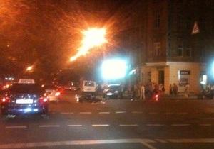 ДТП в Одессе: джип столкнулся с мотоциклом, за рулем которого находился сын мэра Южного