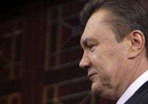 Ъ: Виктор Янукович начинает очень транзитивно