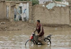 В Афганистане затопило деревню, в которой праздновали свадьбу: 26 погибших