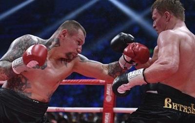Русский боксер Поветкин взял вверх над украинским конкурентом Руденко