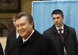 СМИ: За безопасность Януковича отвечает гражданин России